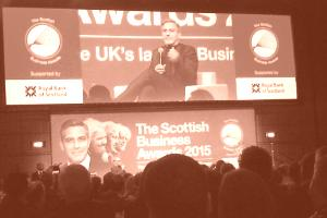 George Clooney Scottish Business Awards Event image